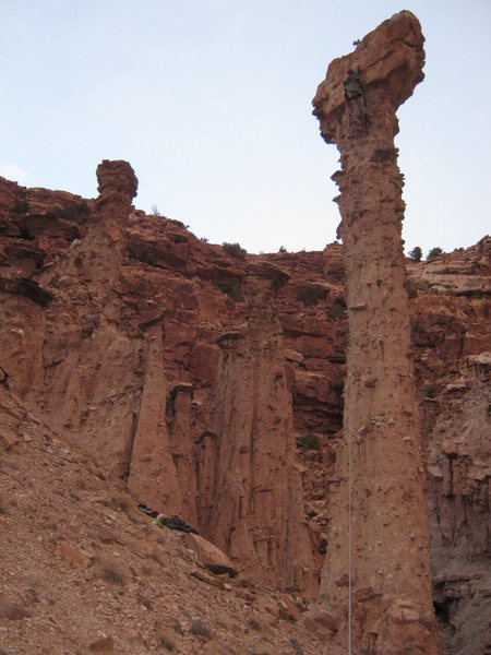The awesome Ghost Dancer Spire, escelante canyon