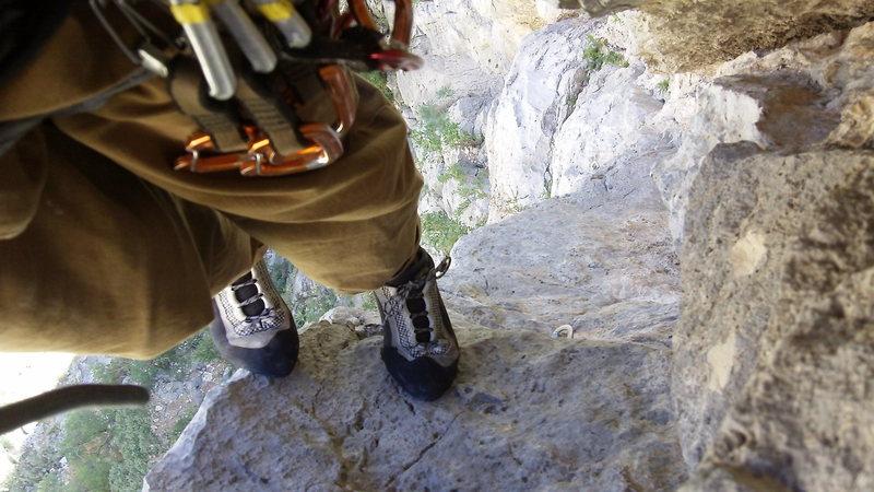 Rock Climbing Photo: Crack Test Dummies EPC