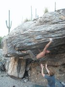 Rock Climbing Photo: cop killa variation