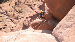 Rock Climbing Photo: DO NOT DO THIS! We did not notice until a later as...