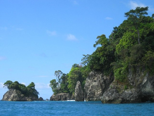 Pacific Coast between Osa Peninsula and Corcovado National Park