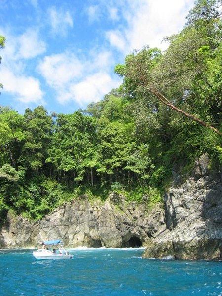 another coast shot between osa and corcovado<br>