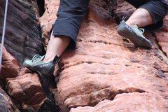 Rock Climbing Photo: Happy Feet