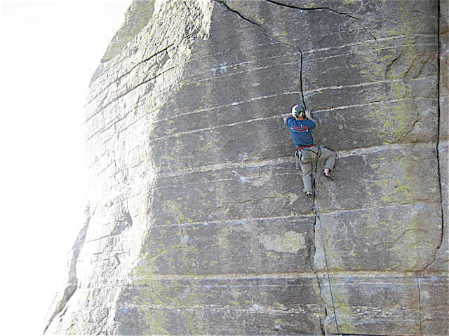 Rock Climbing Photo: Proof that I can learn from my mistakes.  There ma...