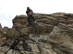 Rock Climbing Photo: Hazardous Waste.