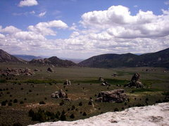 Rock Climbing Photo: View from the summit of Lost Arrow
