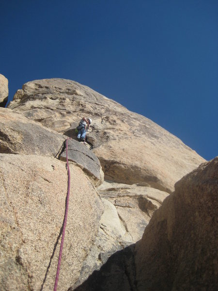 Nate on Barely Crankin (5.5)<br>