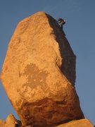 Rock Climbing Photo: to the top of Cryptic