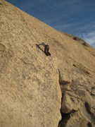 Rock Climbing Photo: up on the friction slab of Searching