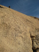 Rock Climbing Photo: topping out on Search for Klingons