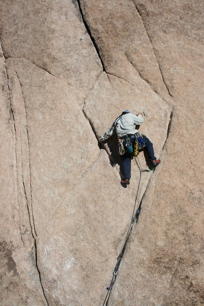 Al at crux of Leaping Leaner