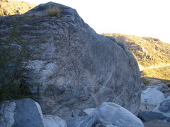 Rock Climbing Photo: This is the front side of Chossy.