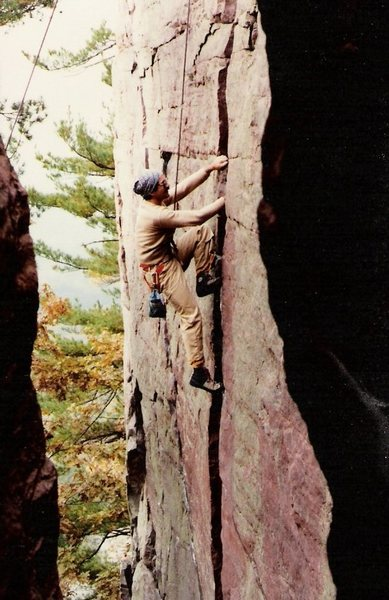 Rock Climbing Photo: Now THIS is what the 70's did to us.