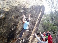 Rock Climbing Photo: Michael Bartel on Save Yourself