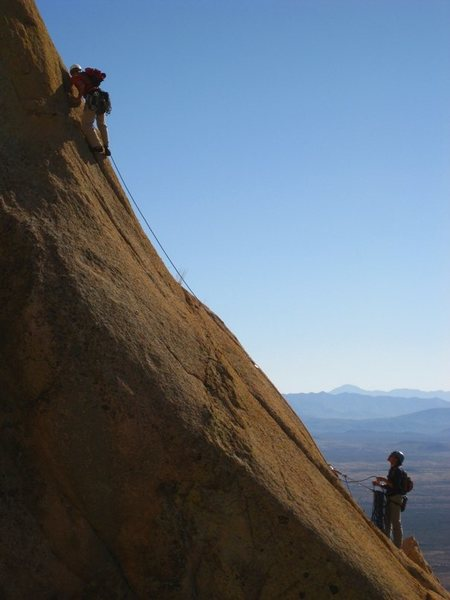 Rock Climbing Photo: evelyn & kevin - too tough to die