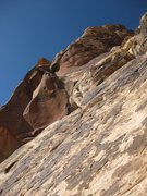 Rock Climbing Photo: Windy Corner converges onto, and shares the same u...