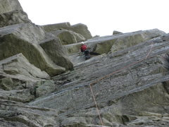Rock Climbing Photo: Me on Boardwalk Oct. 09