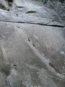Rock Climbing Photo: lower half of Harpoon