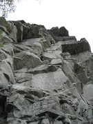 Rock Climbing Photo: SS just below the bolted belay Oct.09