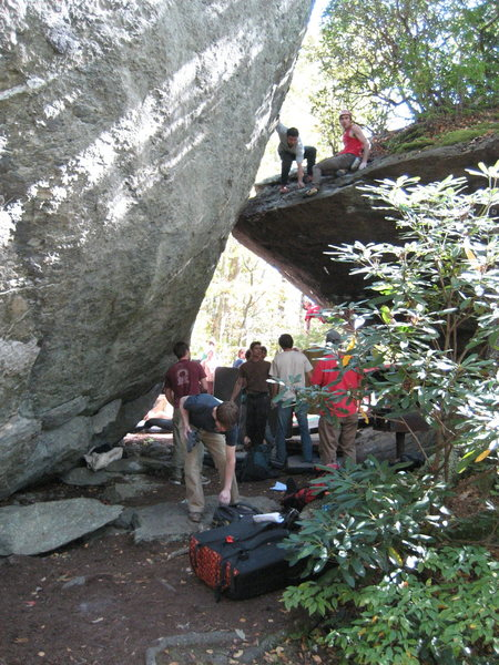 Rock Climbing Photo: the scene