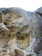Rock Climbing Photo: Start of Mullah.