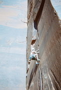 Rock Climbing Photo: Pig Heaven - Jon Howland climbing, Goldstein/Wells...