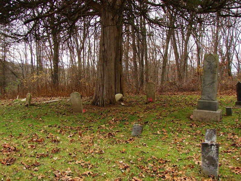 Kinda creepy old (1800's) cemetery near Twin Valley Lake.