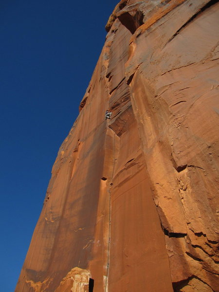 Rock Climbing Photo: The beautiful unamed corner.  Great climbing the w...