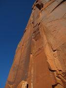 Rock Climbing Photo: The beautiful unamed corner.  Great climbing the w...