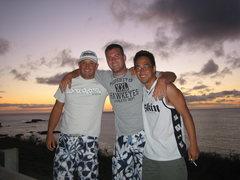Rock Climbing Photo: taken at Waimea Bay, on the North Shore of Oahu