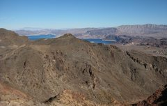 Rock Climbing Photo: Great panoramic views of Las Vegas, and desert vie...