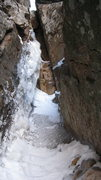 Rock Climbing Photo: 2nd pitch crux, sick!!