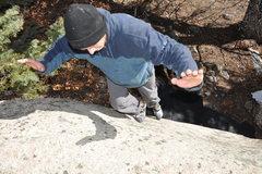 Rock Climbing Photo: Look Ma, No Hands!!