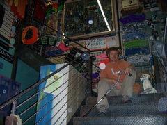 Rock Climbing Photo: Marty at AZ Cliff Hanger