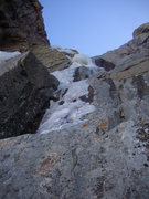 "Rock Climbing Photo: Last pitch of ice on ""The Road"" Taken 11..."