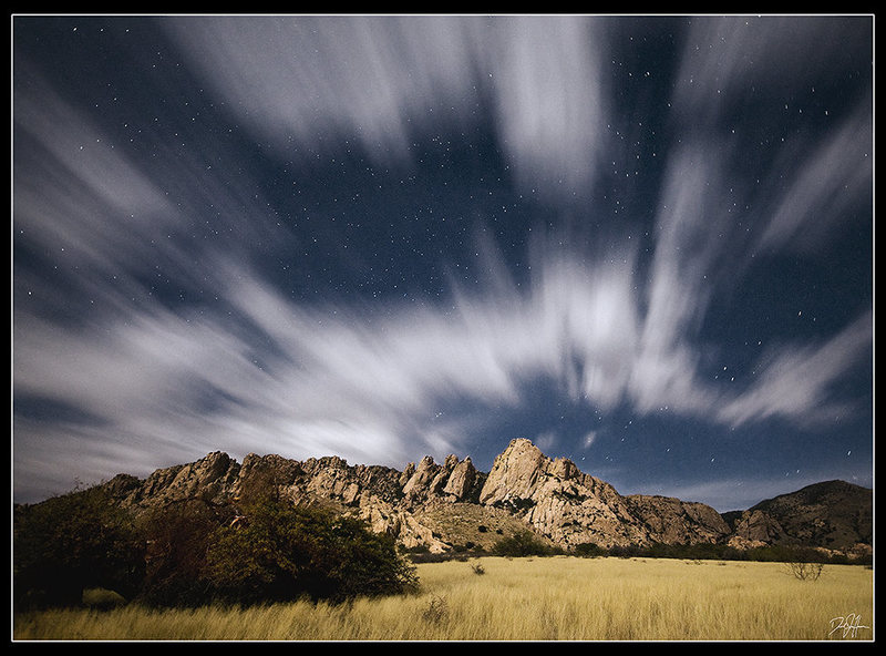Rock Climbing Photo: The West Stronghold on a gorgeous November night. ...