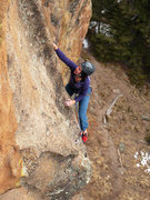 Rock Climbing Photo: Burning some post-Thanksgiving dinner calories on ...