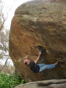Rock Climbing Photo: Nearing the undercling where the meat of the probl...