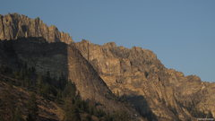 Rock Climbing Photo: blodgett canyon, mt