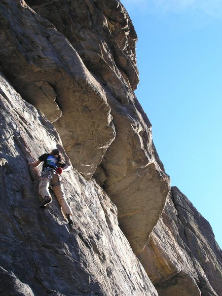 Rock Climbing Photo: dana on Stone Free