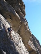 Rock Climbing Photo: dana on Stone Free