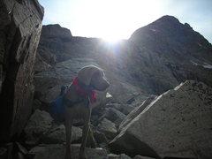 Rock Climbing Photo: Under Mt. Toll