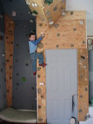 Rock Climbing Photo: Cliimbing wall.