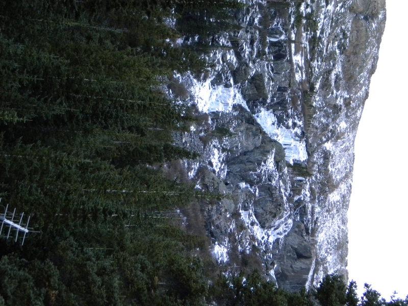 Rock Climbing Photo: Lincoln falls 10-11-09