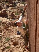 "Rock Climbing Photo: Scott onsighting ""The Judge"""