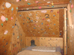 Rock Climbing Photo: one view of the garage
