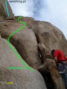 Rock Climbing Photo: Lower part of Baby Woolsey