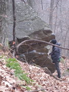 Rock Climbing Photo: We came across this today at group B. It was writt...