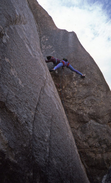 Rock Climbing Photo: mmm...more 80's style