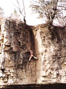 Rock Climbing Photo: Coffin Corner, 5.8 on Fishermans Wharf wall at Kan...